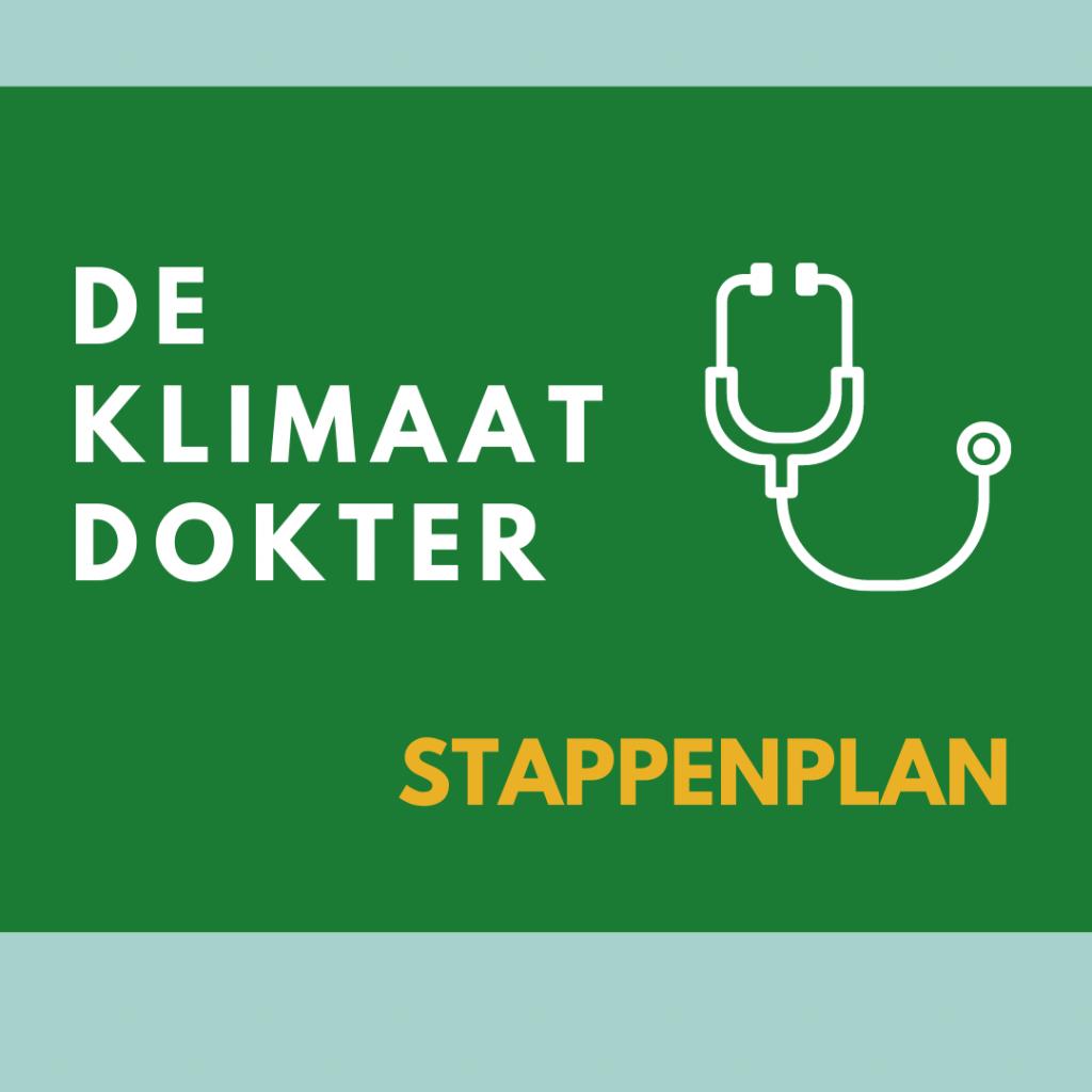 De Klimaat Dokter Stappenplan duurzaamheid zorgorganisatie